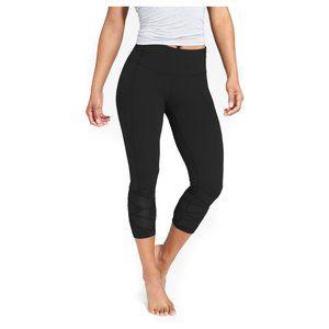 Athleta Mantra capri mesh leggings S